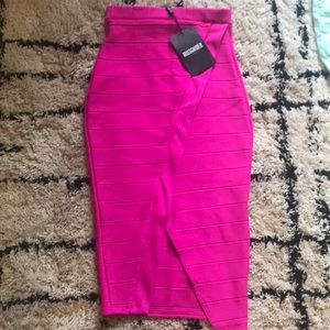 Misguided pencil skirt